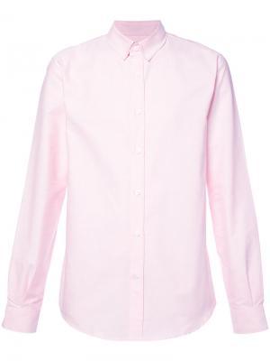 Классическая рубашка Éditions M.R. Цвет: розовый и фиолетовый