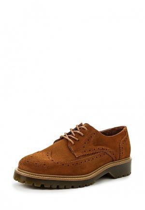 Туфли Bronx. Цвет: коричневый