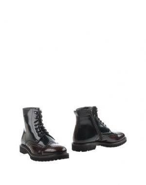 Полусапоги и высокие ботинки MARIO LUISO. Цвет: темно-зеленый