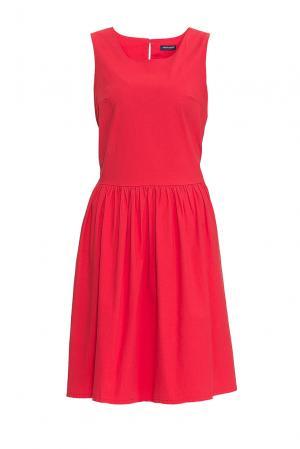 Платье из хлопка 170647 Saint James. Цвет: красный