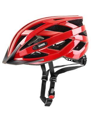 Шлемы Uvex. Цвет: красный
