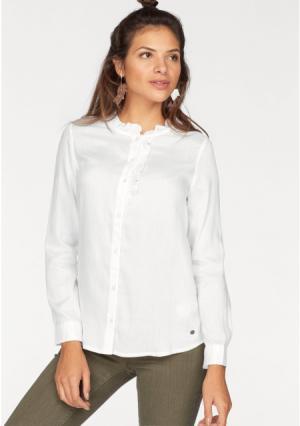 Блузка AJC. Цвет: белый, нежно-розовый, черный