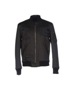 Куртка LETASCA. Цвет: стальной серый