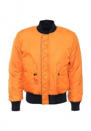 Куртка утепленная Alpha Industries. Цвет: разноцветный
