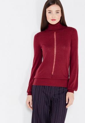 Водолазка Sisley. Цвет: бордовый