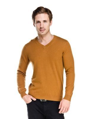 Пуловер VipDressCode. Цвет: горчичный