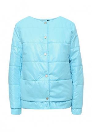 Куртка утепленная Grishko. Цвет: голубой