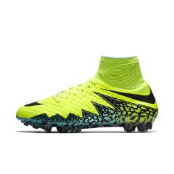 Футбольные бутсы для игры на искусственном газоне  Hypervenom Phantom II AG Nike. Цвет: желтый