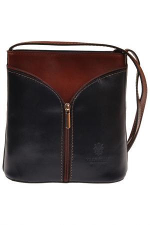 Сумка FLORENCE BAGS. Цвет: blue, brown