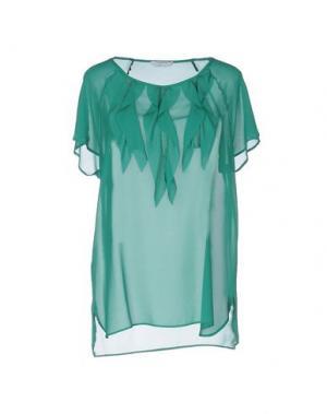 Блузка BIANCOGHIACCIO. Цвет: зеленый