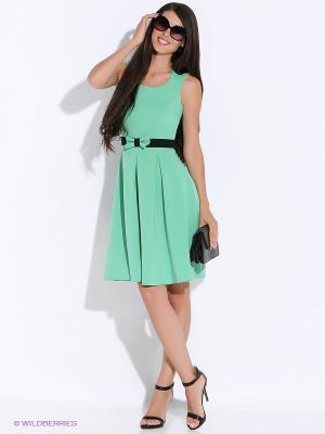Платье Colambetta. Цвет: зеленый, черный