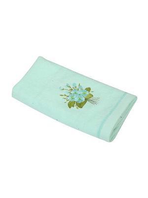 Полотенце Фиалка 30х70 La Pastel. Цвет: салатовый