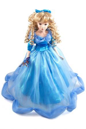 Кукла Сильвия Русские подарки. Цвет: синий