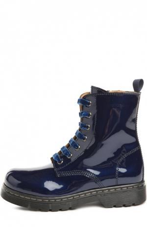 Ботинки Zecchino d'Oro. Цвет: синий