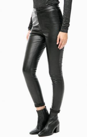 Черные зауженные брюки Cheap Monday. Цвет: черный
