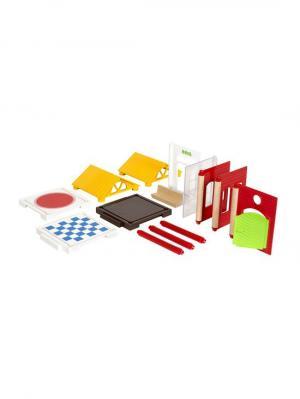 Игровой набор доп.деталей для построения дома,14 предм.,26х6х19см,кор. BRIO. Цвет: прозрачный