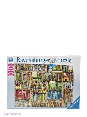 Паззл Книжная лавка, 1000 шт Ravensburger. Цвет: белый, синий, голубой