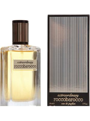 Парфюмерная вода Extraordinary Roccobarocco. Цвет: золотистый, черный