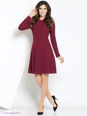 Платье Femme. Цвет: бордовый