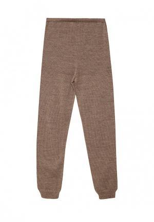 Леггинсы R&I. Цвет: коричневый