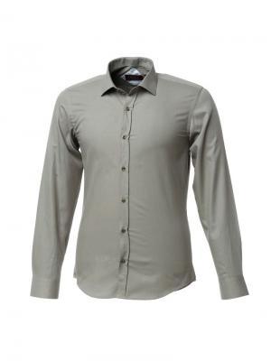 Рубашка BIRIZ. Цвет: оливковый