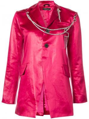 Пиджак Im A Luxury Barbara Bologna. Цвет: розовый и фиолетовый