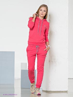 Спортивный костюм Runika. Цвет: розовый