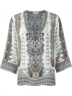 Printed tunic Camilla. Цвет: зелёный