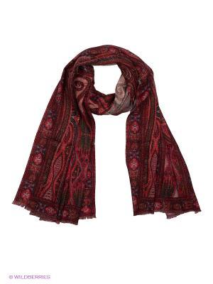 Палантин Eleganzza. Цвет: красный, бежевый, коричневый