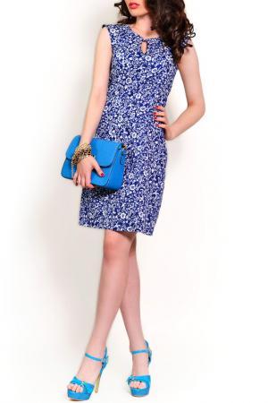 Платье MONT PELLIER. Цвет: сапфировый