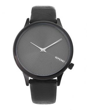 Наручные часы KOMONO. Цвет: черный
