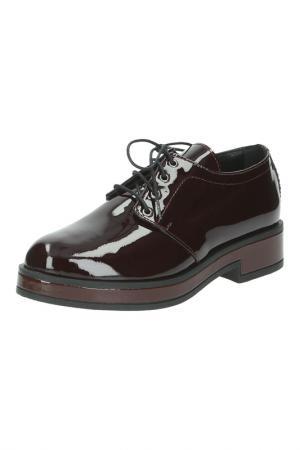 Ботинки Repo. Цвет: бордовый