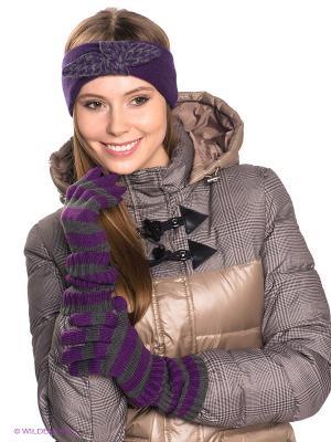 Перчатки Maxval. Цвет: фиолетовый