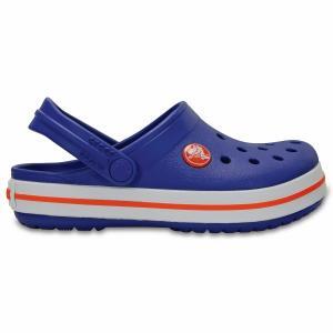 Сабо Crocband Clog Kids CROCS. Цвет: красный,серый,синий,темно-синий