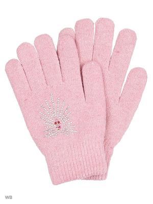 Перчатки Punta. Цвет: бледно-розовый