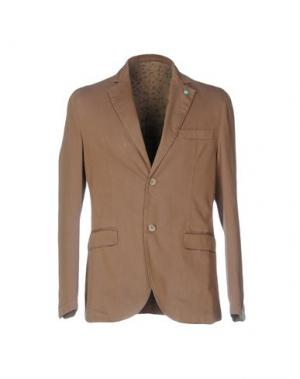 Пиджак BARBATI. Цвет: верблюжий