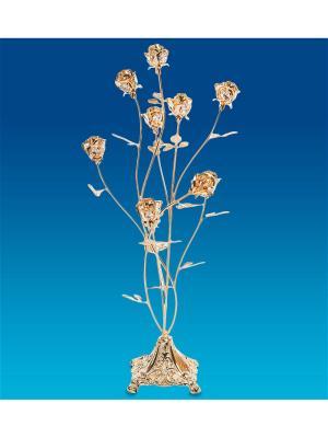 Композиция Розы Юнион. Цвет: золотистый