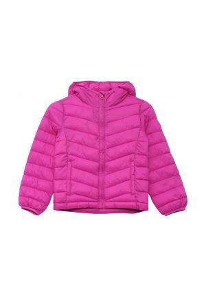 Куртка утепленная Gap. Цвет: фиолетовый