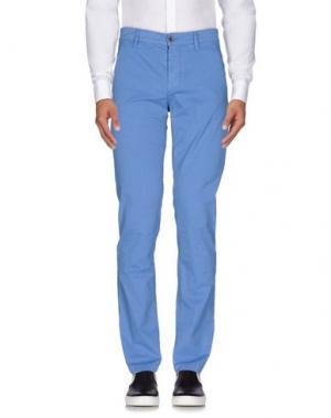Повседневные брюки CAMOUFLAGE AR AND J.. Цвет: лазурный