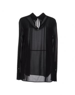 Блузка CARLO CONTRADA. Цвет: черный