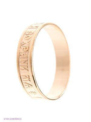 Кольцо Бронницкий ювелир. Цвет: золотистый