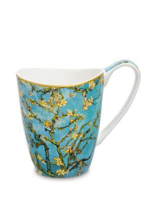 Кружка Ветки цветущего миндаля  (В. Гог) 400 мл (Carmani) Carmani. Цвет: белый
