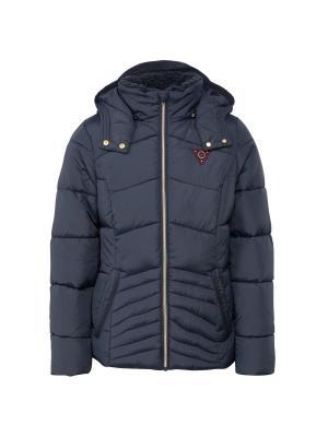 Куртка TOM TAILOR. Цвет: темно-синий