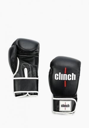 Перчатки боксерские Clinch. Цвет: черный