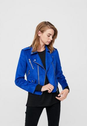 Куртка Mango. Цвет: синий