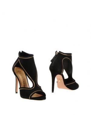 Полусапоги и высокие ботинки VICENZA). Цвет: черный