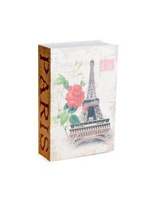 Сейф - книга Эйфелева башня Aztek. Цвет: коричневый, красный, серый