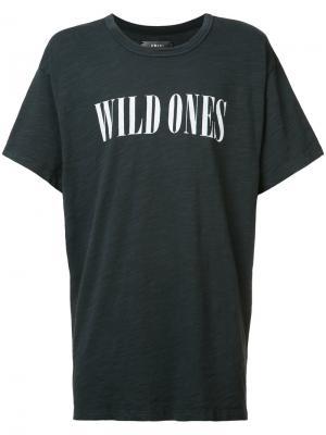Футболка Wild Ones Amiri. Цвет: чёрный