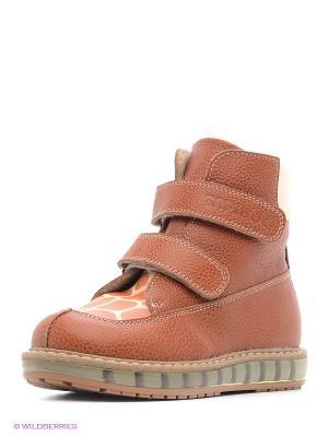 Ботинки TAPiBOO. Цвет: коричневый