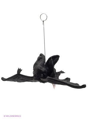 Летучая мышь черная парящая, 37см Hansa. Цвет: черный